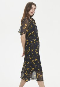 Soaked in Luxury - Maxi dress - navy/yellow - 3
