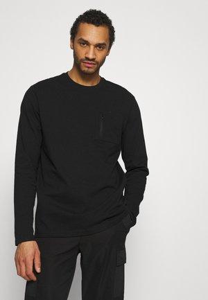 ONSMAKHI LIFE POCKET TEE - T-shirt à manches longues - black