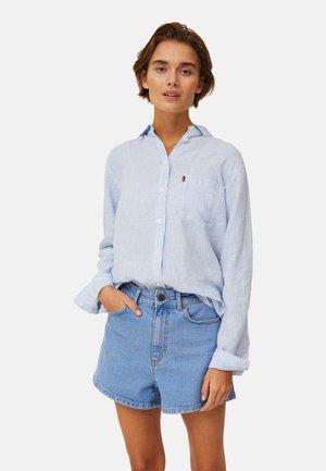 Camicia - lt blue white stripe