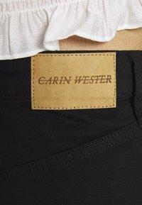 Carin Wester - Džíny Straight Fit - black - 3