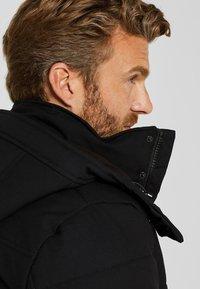 Esprit - MIT VARIABLER KAPUZE - Winter jacket - black - 4