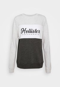 Hollister Co. - FASHION CREW - Sweatshirt - grey/white - 3