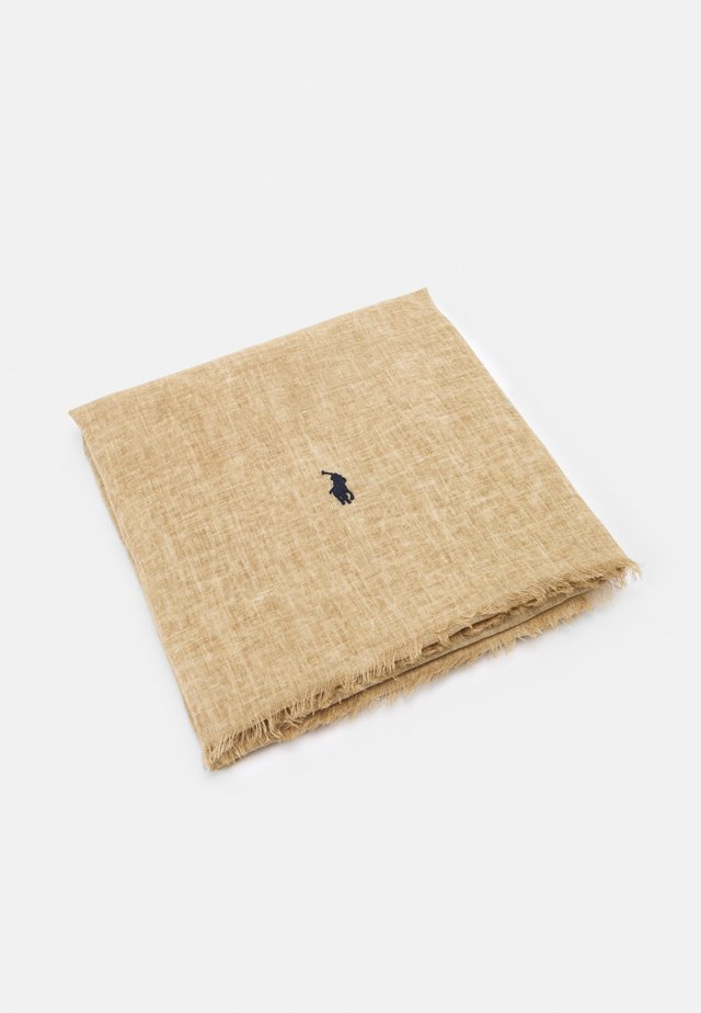 CRINKLED OBLONG - Sjal - vintage khaki