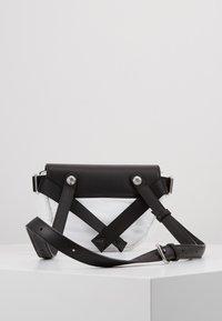 KARL LAGERFELD - IKON BELT BAG - Bum bag - white - 2