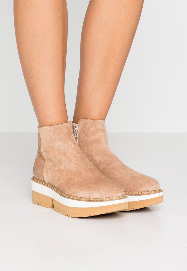 KIN - Platform ankle boots - beige