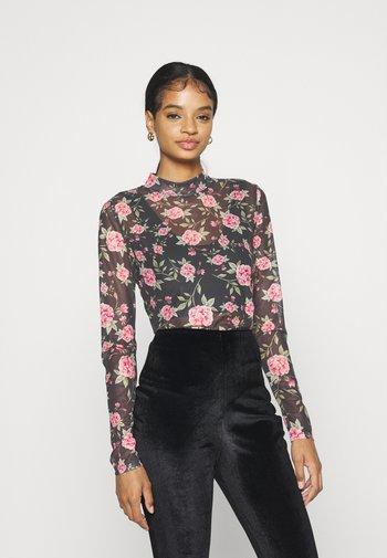 VIKAMAS - Long sleeved top - black