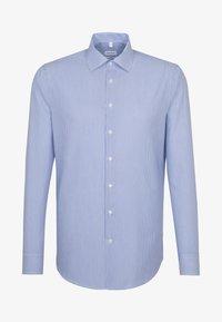 Seidensticker - SHAPED FIT - Shirt - blue - 0