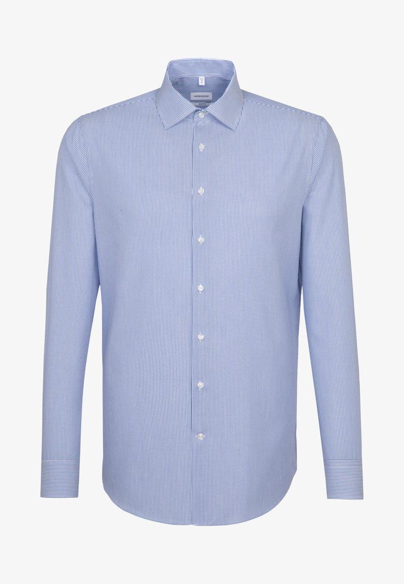 Seidensticker - SHAPED FIT - Shirt - blue