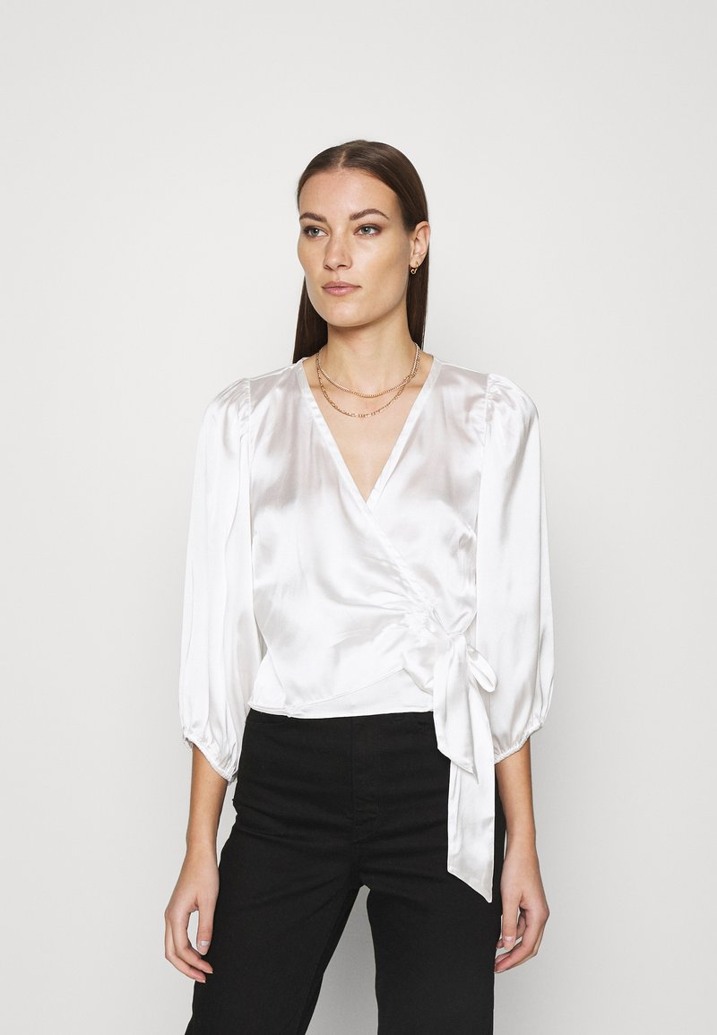 Abercrombie & Fitch - CHASE BLOUSE - Blouse - cream