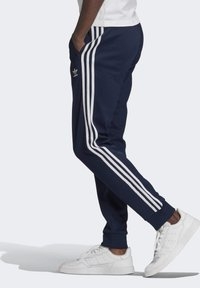 adidas Originals - ADICOLOR CLASSICS PRIMEBLUE SST TRACKSUIT BOTTOM - Spodnie treningowe - blue - 3