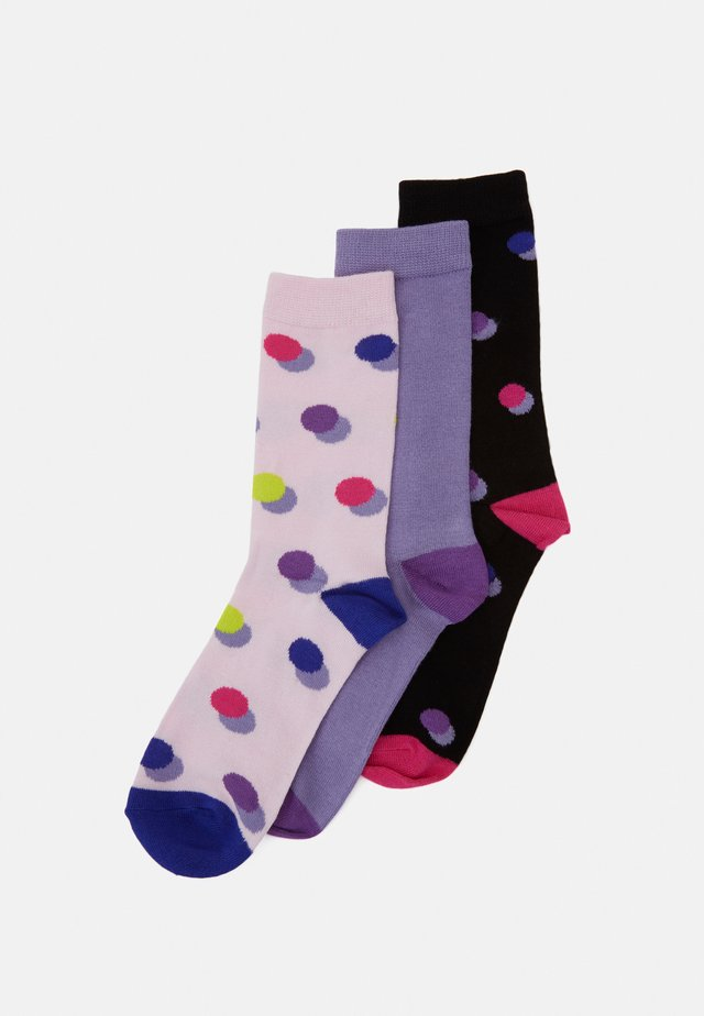 BAMBOO DOTTY SOCKS 3 PACK - Strumpor - multi-coloured