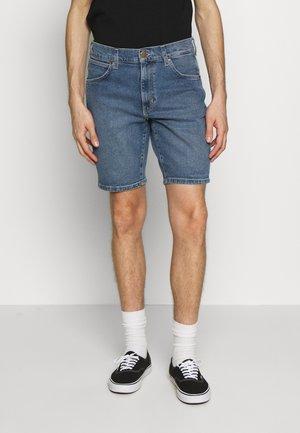 TEXAS FIT - Shorts vaqueros - blue stones