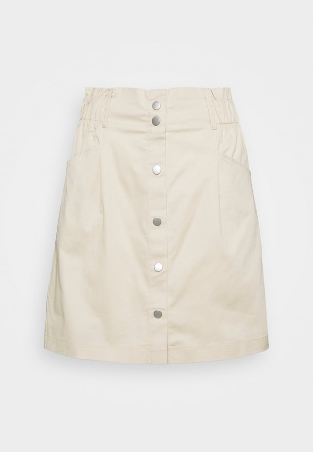ONLRAZZLE SKIRT - Minifalda - pumice stone