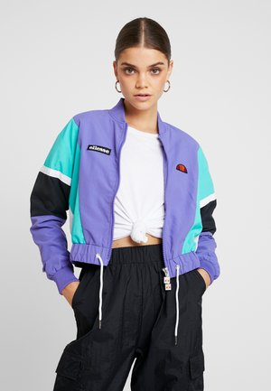 ADELINA - Bomber Jacket - purple
