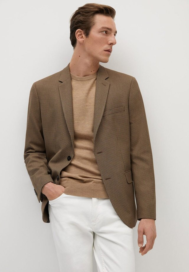 SUPER BAUMWOLL - Blazer jacket - braun