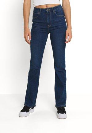 BREESE - Bootcut jeans - dark aspen