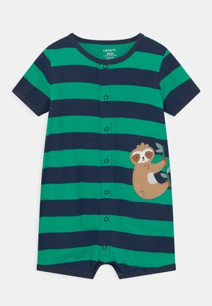 SUR STRIPE - Overal - green/dark blue