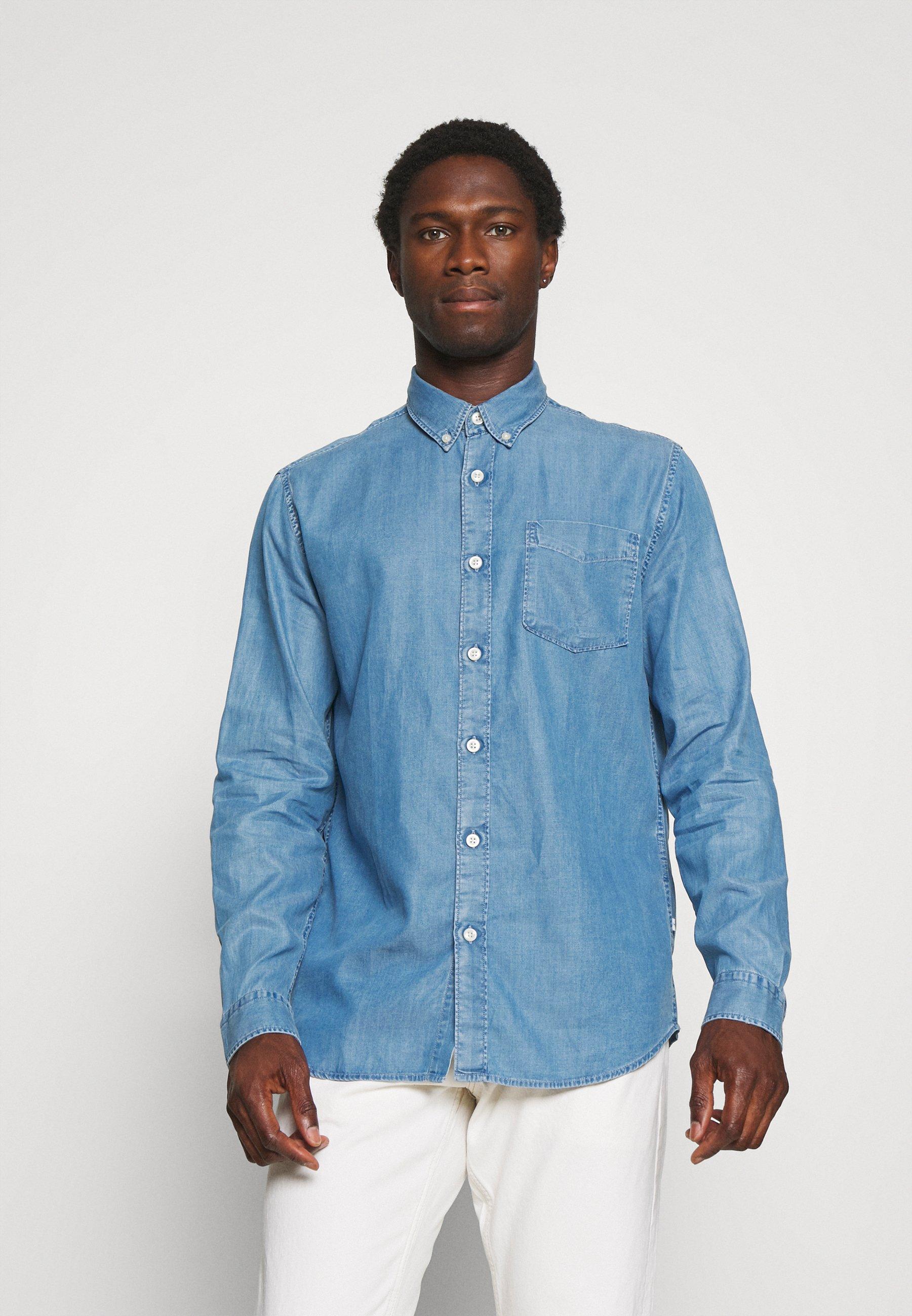 Uomo SLHREGSTANLEY SHIRT - Camicia