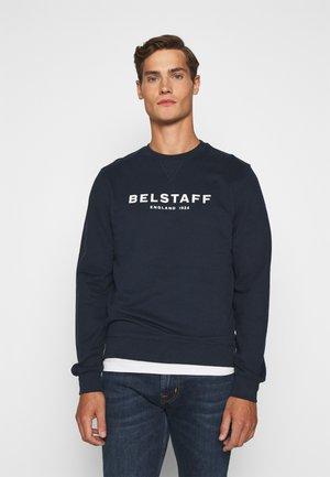 Sweatshirt - navy/offwhite