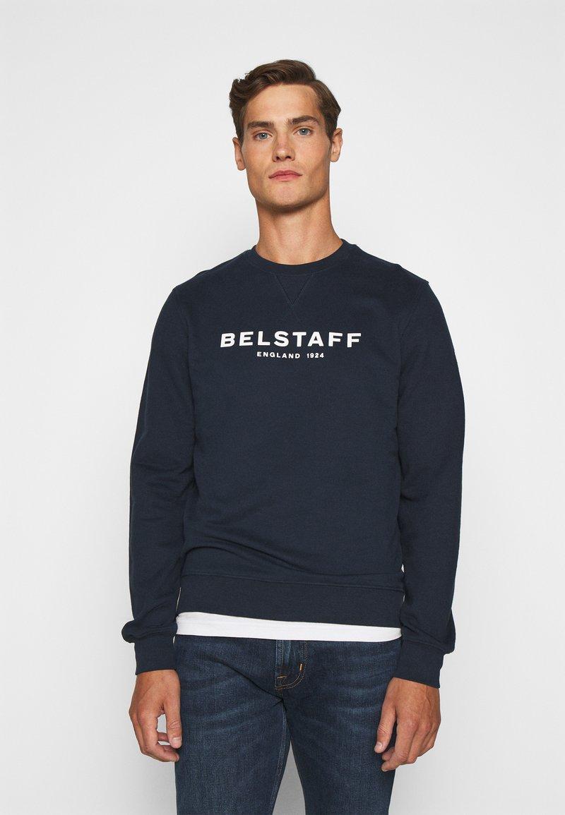 Belstaff - Sweatshirt - navy/offwhite