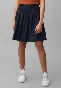 Marc O'Polo DENIM - Pleated skirt - scandinavian blue - 0