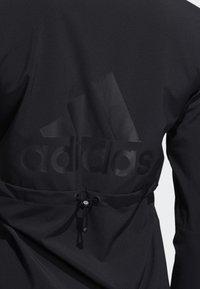 adidas Performance - BADGE OF SPORT JACKET - Treningsjakke - black - 4
