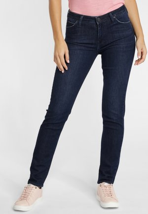 ELLY - Jeansy Slim Fit - dark blue