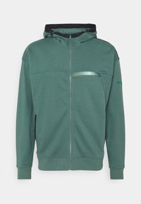 Under Armour - RIVAL TERRY - Mikina na zip - toddy green - 0
