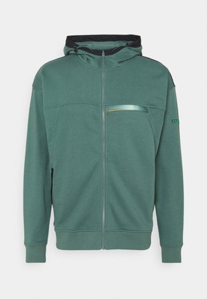 RIVAL TERRY - veste en sweat zippée - toddy green