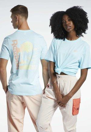 CLASSICS T-SHIRT - T-shirt con stampa - blue