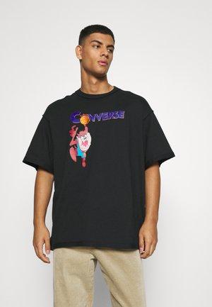 SPACE JAM COURT READY TEE UNISEX - Print T-shirt - black