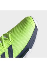 adidas Performance - SOLEMATCH BOUNCE HARD COURT SHOES - Clay court tennis shoes - green - 5
