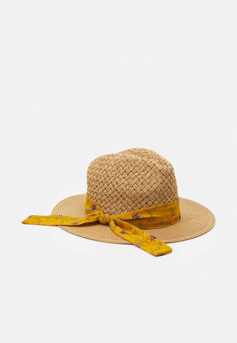 Anna Field - Hat - beige/mustard yellow