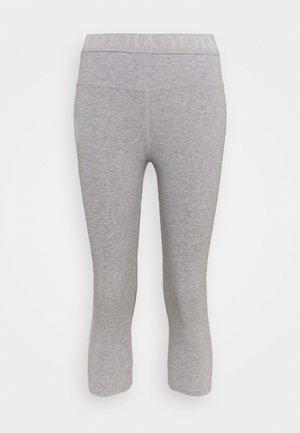 LEGGINGS 3/4 - 3/4 sports trousers - grey melange