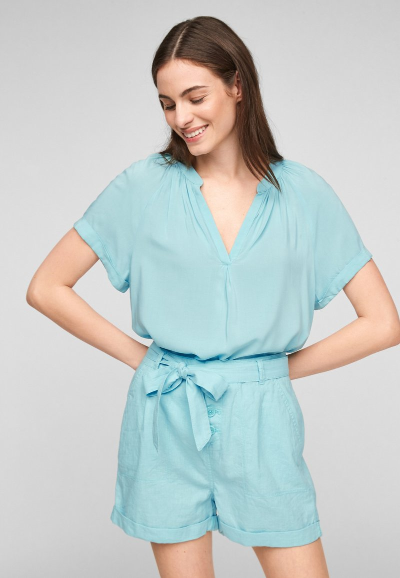 QS by s.Oliver - Blouse - turquoise