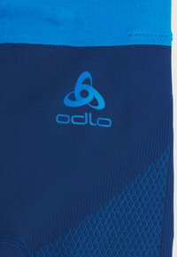 ODLO - BOTTOM PANT PERFORMANCE WARM KIDS UNISEX - Onderbroek - estate blue/directoire blue