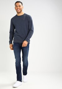 Tommy Jeans - ORIGINAL - Collegepaita - black iris - 1