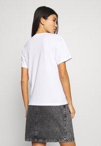 Weekday - ALANIS 2 PACK - T-shirts basic - white - 3