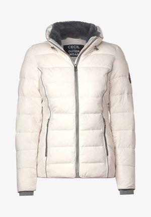 MIT STEPPUNG - Winter jacket - weiß