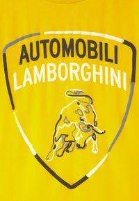 Automobili Lamborghini Kidswear - SHIELD - T-shirt print - yellow tenerife - 2
