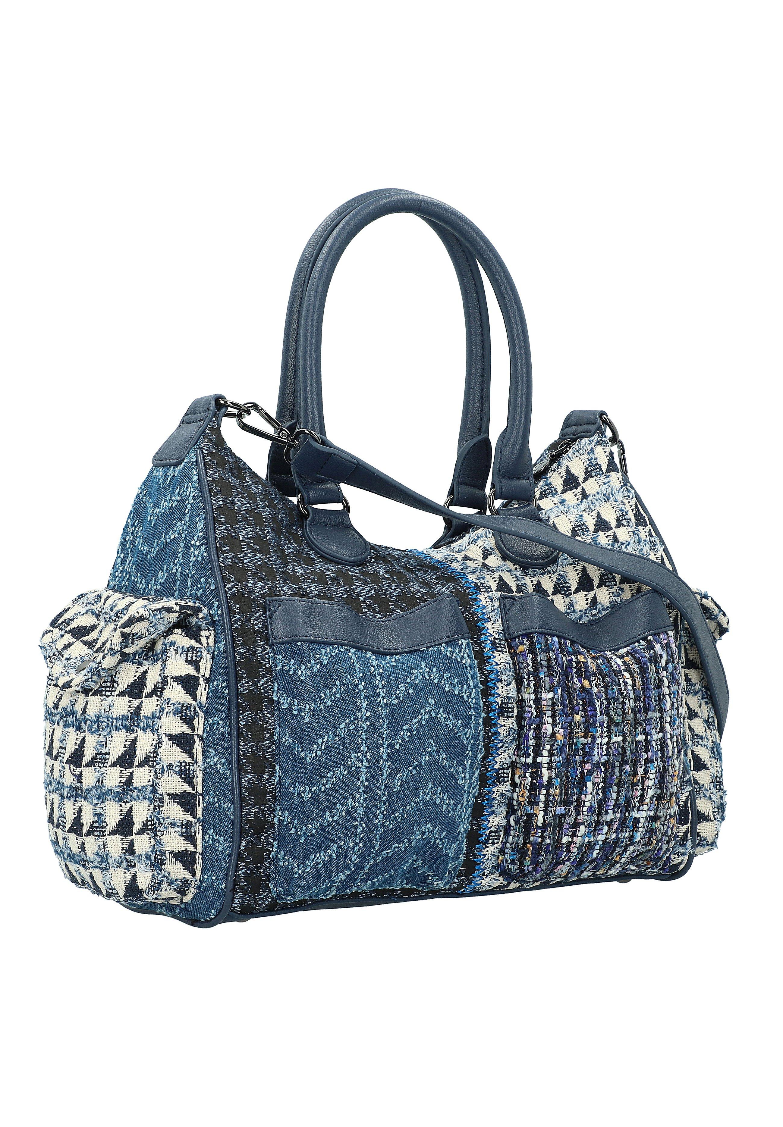 Desigual Bols New 1968 London - Shopping Bag Medieval Blue/blau