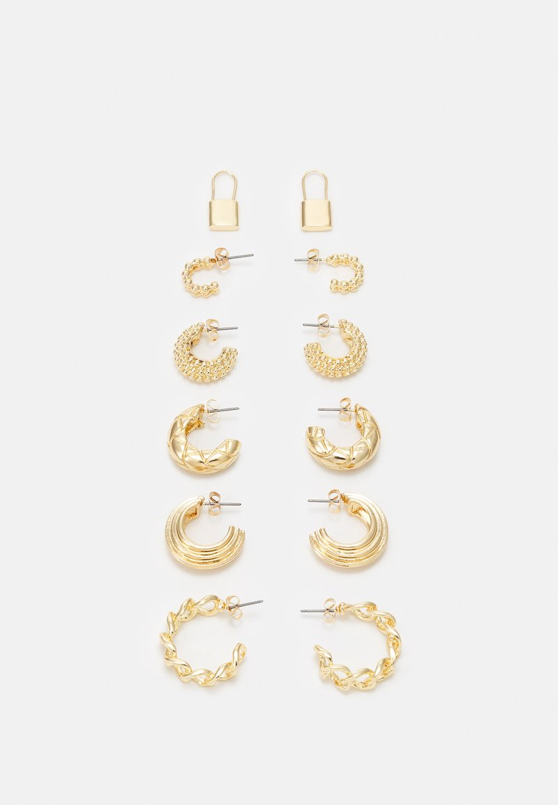Fire & Glory - EARRINGS 6 PACK - Earrings - gold-coloured