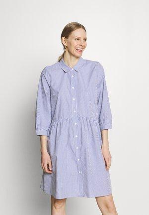 LORIANNA TUNIC - Shirt dress - chalk/midnight marine