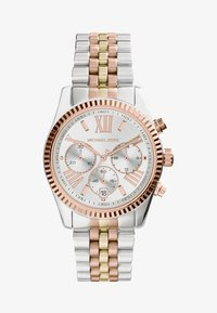 Michael Kors - LEXINGTON - Chronograph watch - silver-coloured/gold-coloured/rosegold-coloured - 1