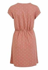 Vila - VIMOONEY STRING - Jersey dress - old rose - 6
