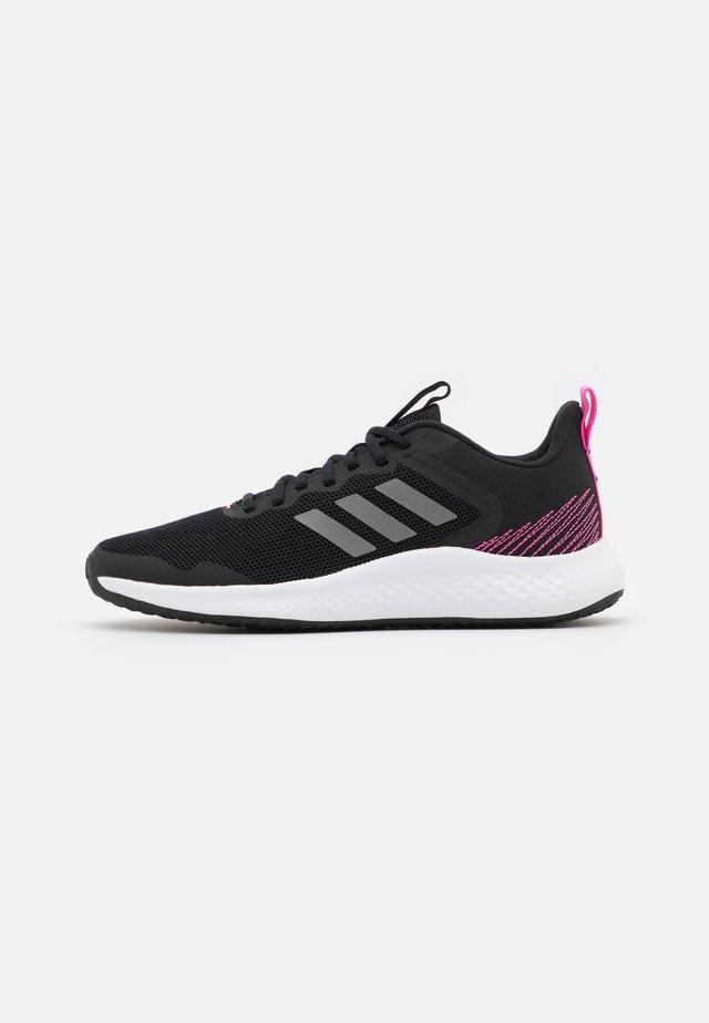 FLUIDSTREET - Sportovní boty - core black/iron metallic/screaming pink
