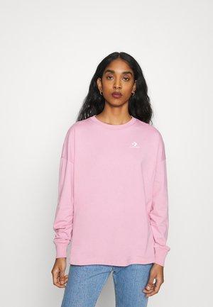 LONG SLEEVE - Bluzka z długim rękawem - lotus pink