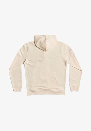 MIT REISSVERSCHLUSS FÜR MÄN - Zip-up sweatshirt - antique white