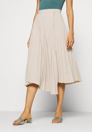 NORA SKIRT - A-line skirt - beige
