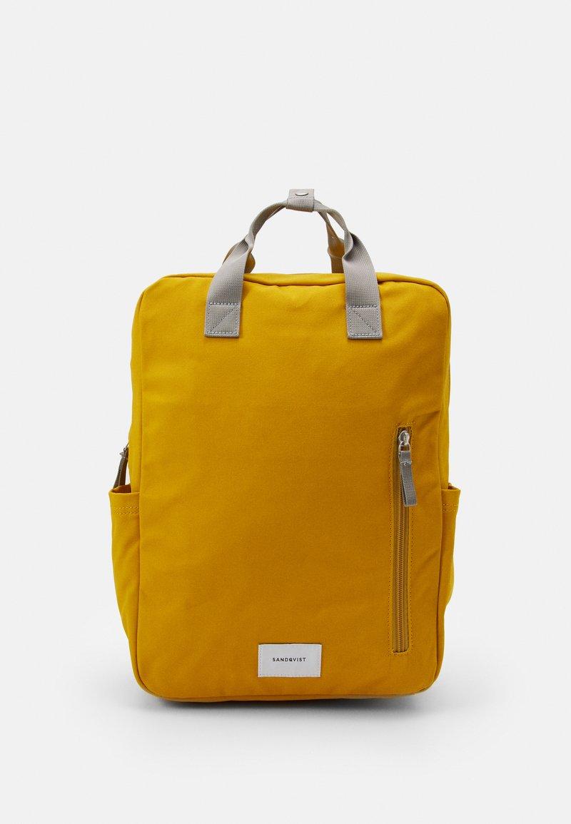Sandqvist - KNUT UNISEX - Reppu - yellow/grey